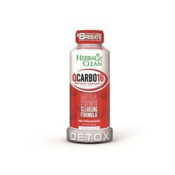 Herbal Clean QCarbo 16oz Tropical Detox Drink